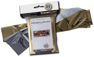 Couverture de Survie EMERGENCY BLANKET Travel safe...