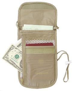 Sacoche de tour de Cou UNDERCOVER NECK WALLET Eagle Creek...