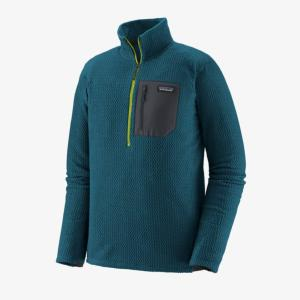 Sweat Polaire Homme M's R1 air zip Patagonia.