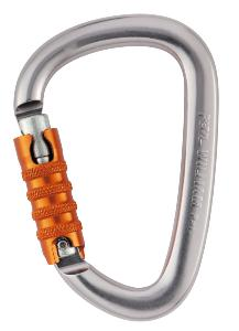 Mousqueton WILLIAM TRIACT-LOCK Petzl