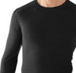 Tee Shirt Homme Laine Mérino 250g Col CREW Smartwool..