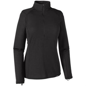Tee Shirt Femme W's Capilene  Midweight Zip-Neck Patagonia.