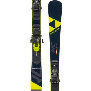 Skis Alpins RC4 Junior RACE T + Fixations FJ4 AC Fisher.