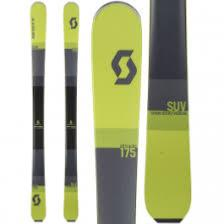 Skis Alpins SUV 2018 Scott.